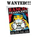 Rancid - Other Collectable - WANTED!!! Rancid - Transplants 2013 Tour Poster