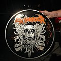 Exhorder - Other Collectable - Hand-painted Exhorder Drum Head