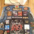 Battle Jacket - OK, the back is finished, patch-wise.