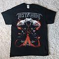 Testament 2017 tour shirt