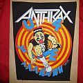 Anthrax - Patch - ANTHRAX  back patch - State of Euphoria