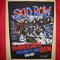 SKID ROW backpatch  Hammersmith odeon- sold out