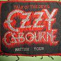 Ozzy Osbourne - Patch - talk of the devil