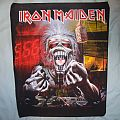 Iron Maiden - Patch -  iron maiden backpatch very rare