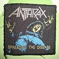 Anthrax - Patch - Spreading the disease