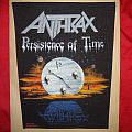 Anthrax - Patch - ANTHRAX  back patch - Persistence of time