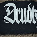 Screen printed Drudkh logo patch