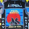 Tank - Dogs of War back patch ,  Acero Letal & Heavy Metal  ( Handpainted  )