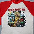 Iron Maiden 81 Killers US tour red jersey TShirt or Longsleeve