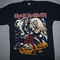 Iron Maiden - TShirt or Longsleeve - Iron Maiden Number of the Beast navy blue FC print