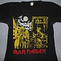 Iron Maiden - TShirt or Longsleeve - Iron Maiden Women in Uniform w/dates