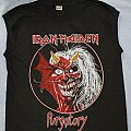 Iron Maiden Purgatory Alive in America black muscle TShirt or Longsleeve