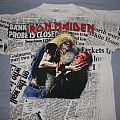 Iron Maiden Be Quick newspaper print Bank in Fraud TShirt or Longsleeve