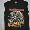 Iron Maiden US Number of the Beast black muscle TShirt or Longsleeve
