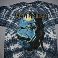 Iron Maiden - TShirt or Longsleeve - Iron Maiden Fear of the Dark tie dye - blue