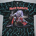 Iron Maiden - TShirt or Longsleeve - Iron Maiden A Real Live Tour allover