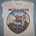 Iron Maiden - TShirt or Longsleeve - Iron Maiden British Metal Onslaught muscle variant
