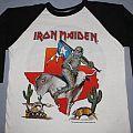 Iron Maiden Texas 1985  TShirt or Longsleeve