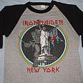 Iron Maiden New York 1983 jersey TShirt or Longsleeve