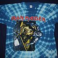 Iron Maiden No Prayer for the Dying US tie dye - dark blue TShirt or Longsleeve