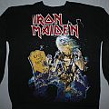 Iron Maiden - TShirt or Longsleeve - Iron Maiden Live After Death w/grave French sweatshirt