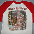 Iron Maiden - TShirt or Longsleeve - Iron Maiden Somewhere in Time red & white jersey