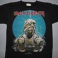 Iron Maiden - TShirt or Longsleeve - Iron Maiden Iron Curtain World Slavery Tour green dates