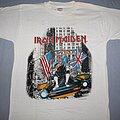 Iron Maiden - TShirt or Longsleeve - Iron Maiden New York 87 white T