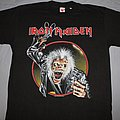 Iron Maiden - TShirt or Longsleeve - Iron Maiden 1990 Claw circle black T