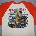 Iron Maiden - TShirt or Longsleeve - Iron Maiden 81 Killers US tour orange jersey