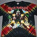 Iron Maiden - TShirt or Longsleeve - Iron Maiden Tailgunner Tie Dye