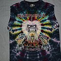 Iron Maiden - TShirt or Longsleeve - Iron Maiden Live After Death tie dye muscle shirt