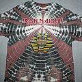 Iron Maiden - TShirt or Longsleeve - Iron Maiden Powerslave tie dye T