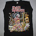 Iron Maiden - TShirt or Longsleeve - Iron Maiden French Somewhere in Time muscle shirt