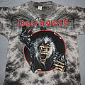 Iron Maiden - TShirt or Longsleeve - Iron Maiden 1990 Claw circle Tie-dye