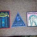 Solitude Aeturnus - Patch - Solitude Aeturnus and Saint Vitus patches