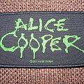 Alice Cooper logo patch
