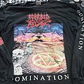 Morbid angel '95 domination longsleeve TShirt or Longsleeve