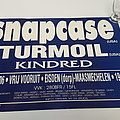Snapcase - Turmoil - Kindred gig poster Other Collectable