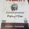 Integrity - Other Collectable - integrity, ringworm, 1995 tourposter