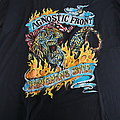 Agnostic front; Hangmans Ball Tour 1992 shirt