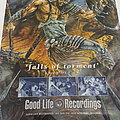 Liar; Falls of torment promo poster Other Collectable