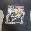 Iron Maiden - TShirt or Longsleeve - Iron maiden; be quick or be dead 1992 shirt