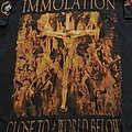 Immolation 2001 tourshirt