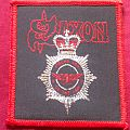 Patch - Saxon - Strong Arm of the Law Patch