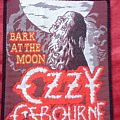 Patch - Ozzy Osbourne - Bark at the Moon Patch