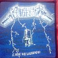 Patch - Metallica - Ride the Lightning Original Patch
