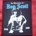 Patch - AC/DC - In Memory of Bon Scott Patch