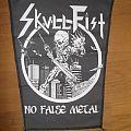 Skull Fist backpatch (TRADE)