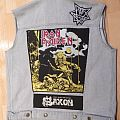 Heavy metal vest Battle Jacket